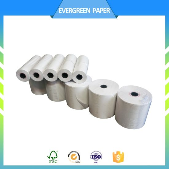 china professional receipt thermal paper atm cash register pos roll