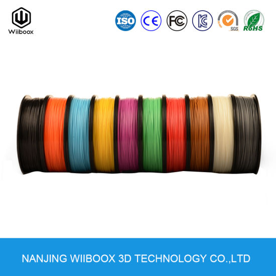 Best Quality Envirement Friendly Economic 1.75mm 3D Printer Filament pictures & photos