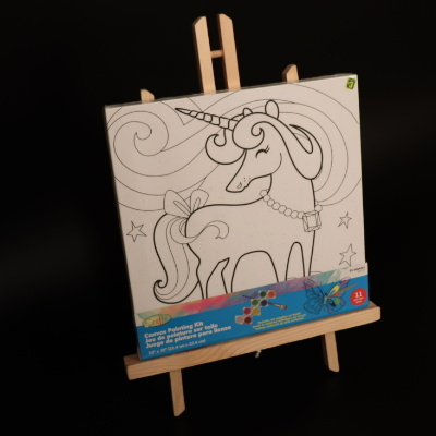 Wooden Kid Drawing Easel / Standing Easel Drawing Board Drawing Stand Magnetic Drawing Mjk-004 pictures & photos