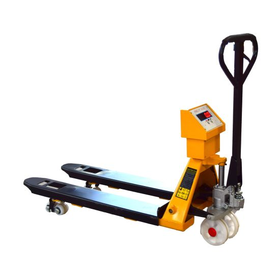 Hand Operated Lift Truck 3 Ton Manual Pallet Truck with Weight Scale