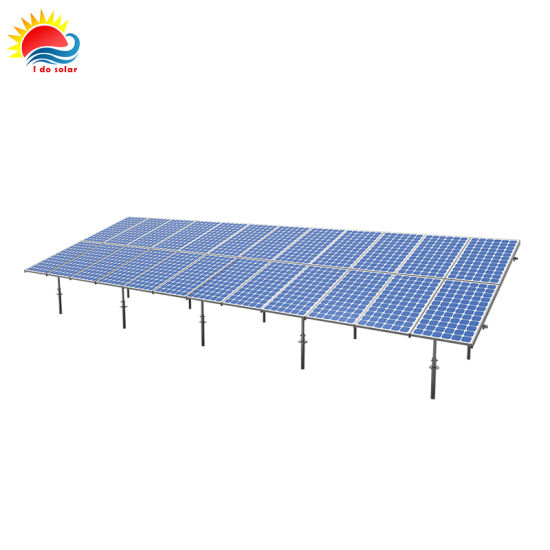 China New Clamp-Less Type Solar Ground Mount Frames (SY0440) - China ...
