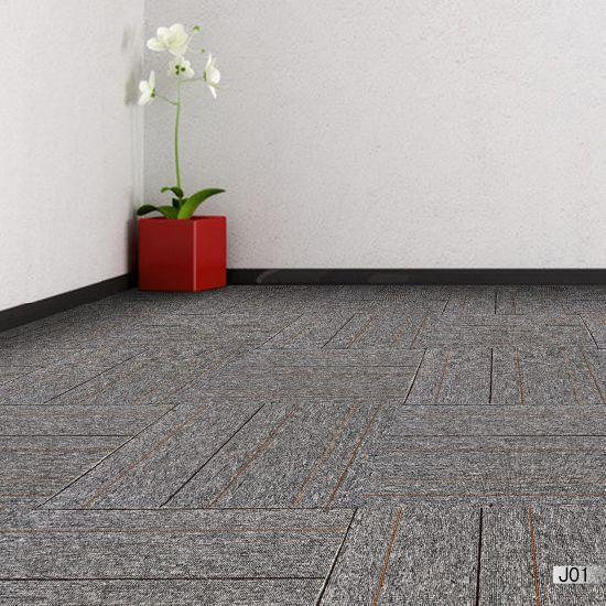 Jiang 1 10 Gauge Pp Office Carpet Tiles With Bitumen Backing Price