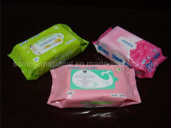 Customized Baby Wet Wipes Manufacturing Machine, Wet Tissue Making Machine pictures & photos