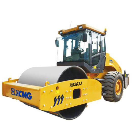 XCMG Road Construction Heavy Machinery 16 Ton 16t Xs162 Hydraulic Single Drum Vibratory Steel Road Roller pictures & photos
