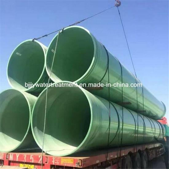 Epoxy Resin FRP GRP Fiberglass Insulation Pipe Used in Underground City