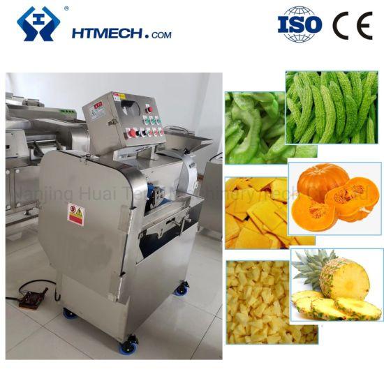 Multifunctional High Efficient Vegetable Cutter with Conveyor Belt