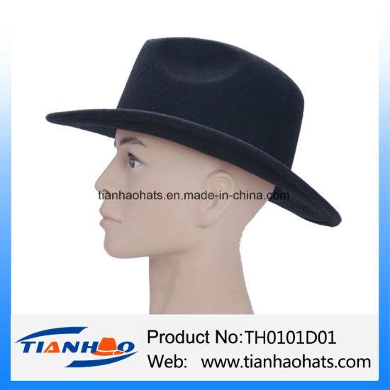 High Quality Wool Felt Cowboy Hat For Men