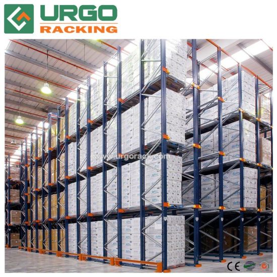 China New Style Drive in Heavy Duty Pallet Racking
