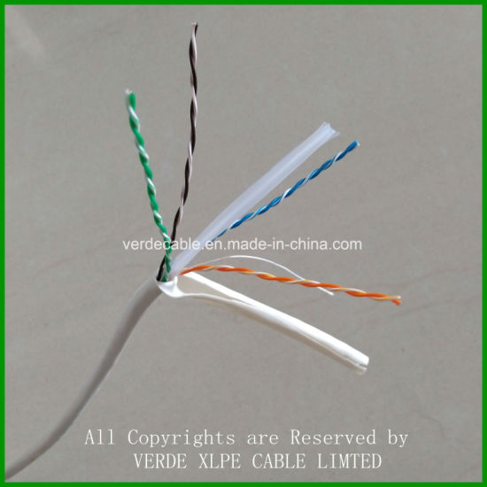 Hot Export Russian Computer Cable Cat5e LAN Cable pictures & photos