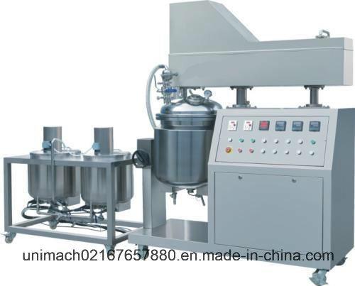 50L Vacuum Cosmetic Emulsifier Mixer