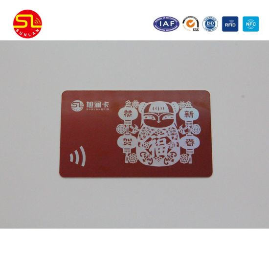 PVC Magnetic Stripe Card with Embossed Numbering and Signature pictures & photos