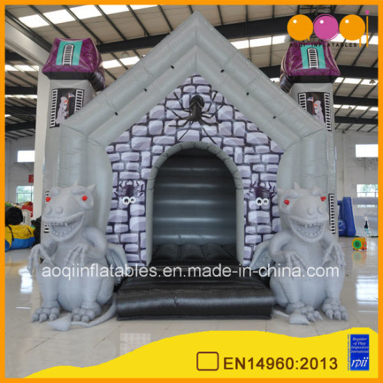 halloween decoration inflatable bouncing castle monster inflatable haunted houses aq02394