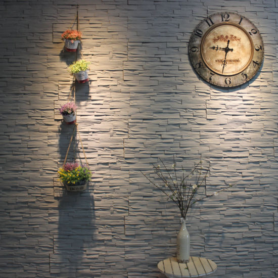 China Interior & Exterior Wall Decoration Wall Cladding Polyurethane ...