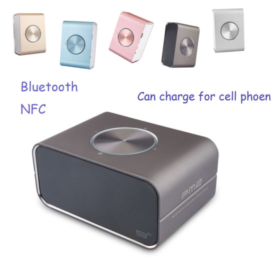 Music Box NFC Wireless HiFi MP3 Speaker Whith Power Bnak pictures & photos