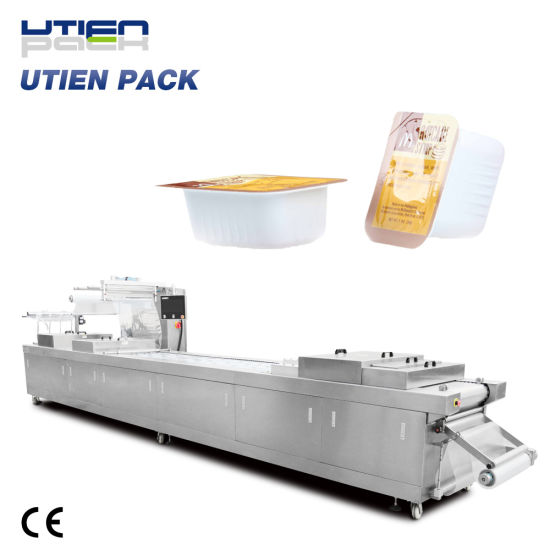 Auto Sauce Jam Ketchup Filling Sealing Packaging Machine in Portion Cup