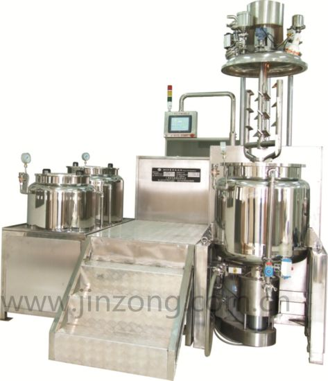 China High Quality Machinery Jrgp Series Vacuum Homogenizer Machine