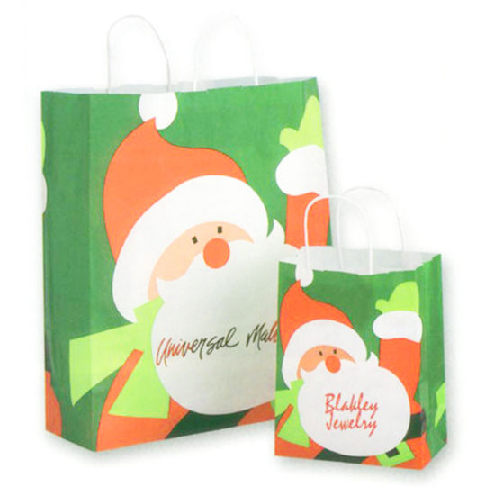 ffb3359b5123 China Christmas Kraft Paper Bag Gift Bags Candy Cookie Bread Nuts ...