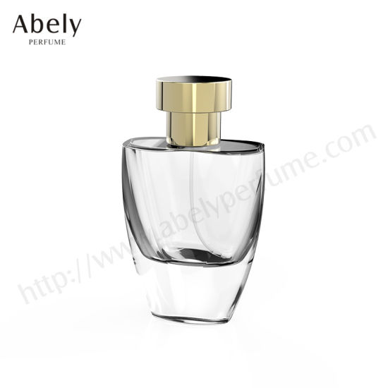 Clear Cosmetic Crimping Glass Perfume Bottle in 30ml, 50ml, 100ml pictures & photos
