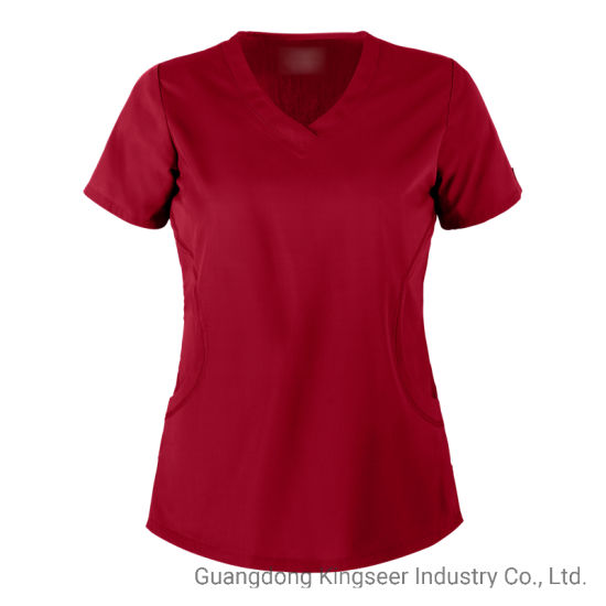 Custom Wholesale Surgery Doctor Nurse Polyester / Cotton Health Care Hospital Clothing Scrubs Uniform for Workwear Scrubs Overall Nurse Uniform Clothes
