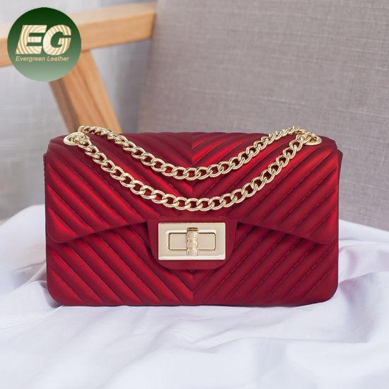 8ba761cc9b1 Trendy Lady Handbag Silicon Women Shoulder Crossbody Bag Sy9032. Get Latest  Price