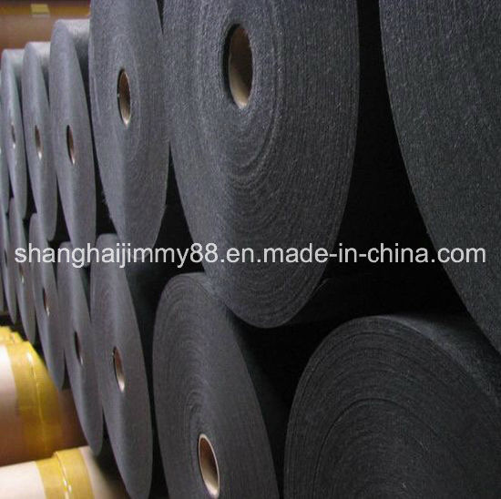 Fiberglass Black Roofing Surface Mat Tissue for Acoustical Material pictures & photos