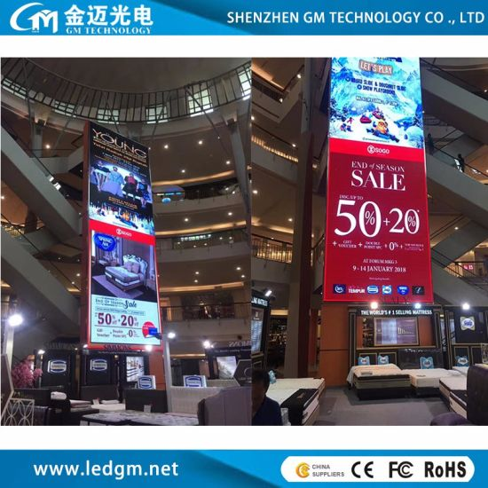 The Best Made in China Indoor P4 LED Fixed Video Wall with Advertising