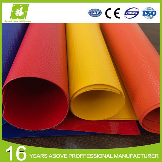 Waterproof Polyester PVC Fabric Tarp Laminated Tarpaulin for Tent Awning