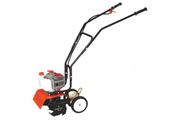 2 Stroke Gasoline Powerful Mini 52cc Farm Cultivator
