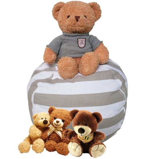 Phenomenal China Stuffed Animal Storage Bean Bag Chair For Kids China Theyellowbook Wood Chair Design Ideas Theyellowbookinfo
