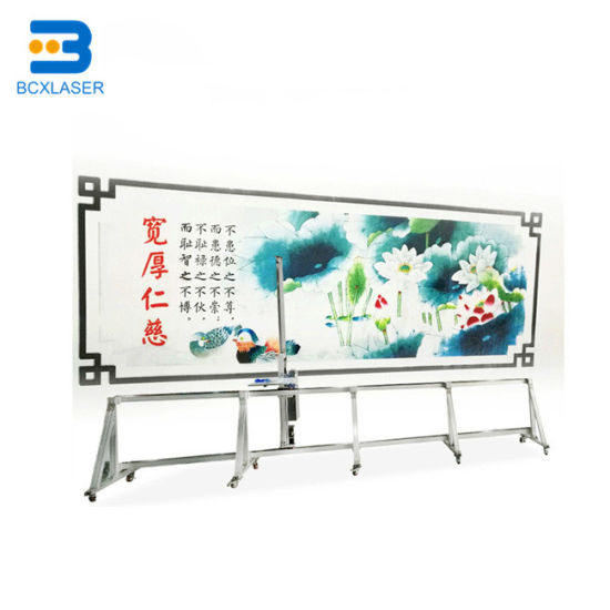 3D Wall Paper Printing Machine / Large Format Outdoor Advertising Eco Solvent Printer