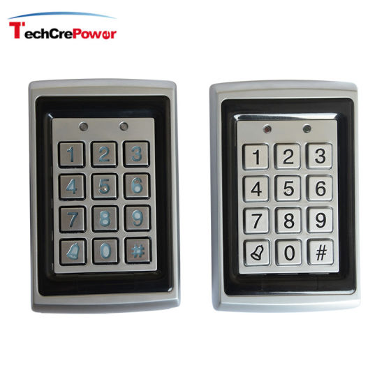 Vandal Resistant Metal RFID Proximity Card or Pin Codes Access Control pictures & photos