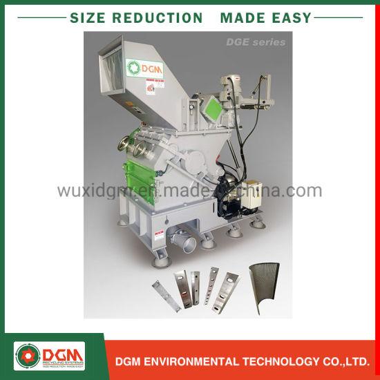 Wood Pallet Cardboard Nylon Block Plastic Recycling Machine Granulator