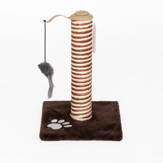 Simple Small Cat Tree with Toy