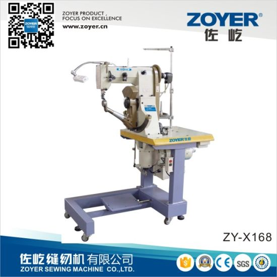 Zy168 Zoyer Double Thread Side Seam Shoes Sewing Machine