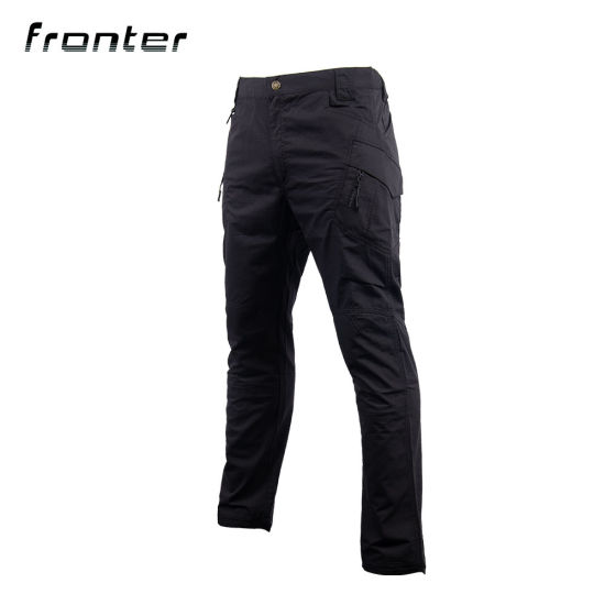 Tactical Combat Black IX9 Cargo Pants Camping Trousers