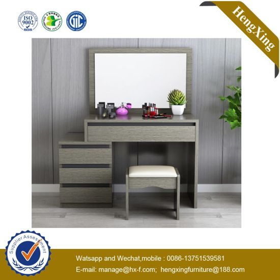 Fashion Home Hotel Bedroom Table Wooden Foldable Mirror Dresser UL-9be150