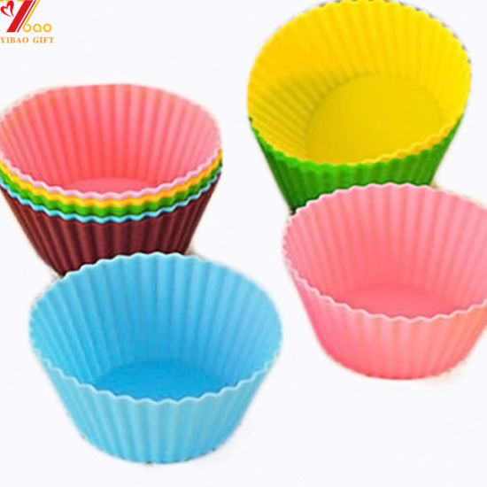 Silicone Cup Cake Mold Silicone Bake Ware Tool Silicone Muffin Cup