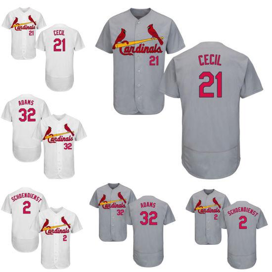 4d97dc078d9 China St. Louis Cardinals Red Schoendienst Cool Base Baseball Jersey ...