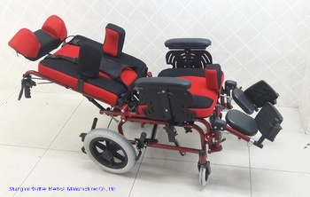 High Quality Folding Portable Children Cerebral Palsy Wheelchair Electric Wheel Chair for Kids