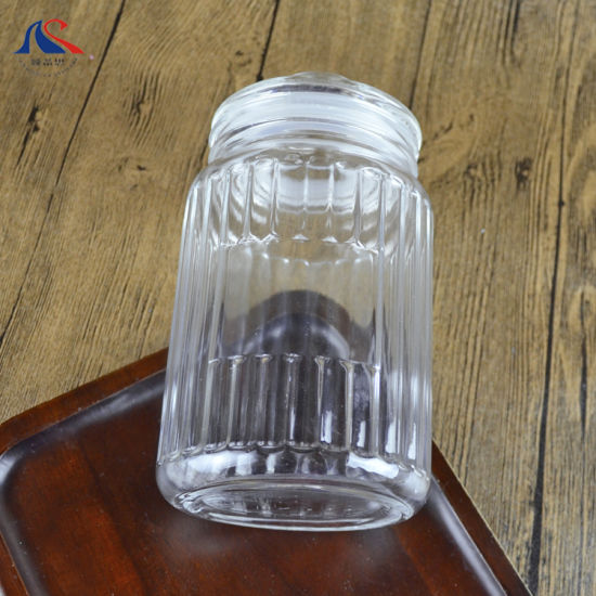 China Exquisite Kitchen Gadget Food Storage Cookie Container Decoration Crystal Candy Jar Home Goods Glass Jars With Fresh Sealed Lid China Mason Suquare Storage Jar And Storage Bottles Jars Price