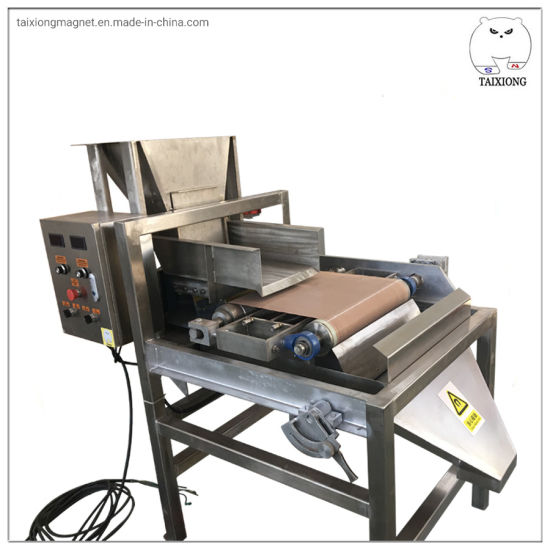 Short Time Delivery Stainless Steel Dry Magnetic Separator Iron Sand