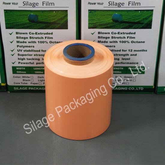 High UV Resistance Wrap Film, Moisture Proof Silage Film, Oxygen Barrier  Plastic Packing Film