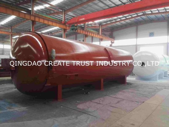 ASME&Ce Certification Autoclave/Rubber Pressure Vessel/Rubber Autoclave pictures & photos