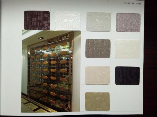 Home Decoration Upholstery PU Synthetic Leather Manufacturers