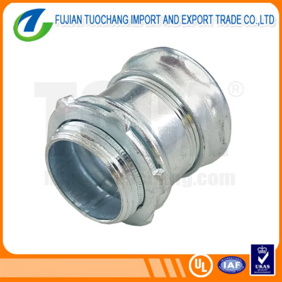 Electrical Conduit Fitting EMT Compression Coupling pictures & photos