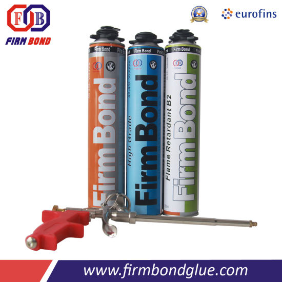 Construction Use 750ml Polyurethane Foam Adhesive pictures & photos