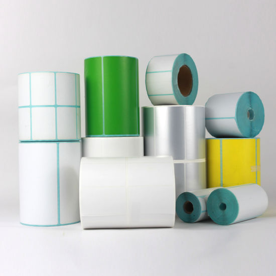 Self Adhesive 4X6 Direct Thermal Sticker Paper Thermal Transfer