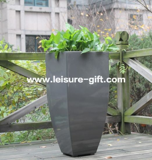 China Fo40 New Outdoor Decorative Fiberglass Pots China Garden Delectable Gardening Decorative Accessories
