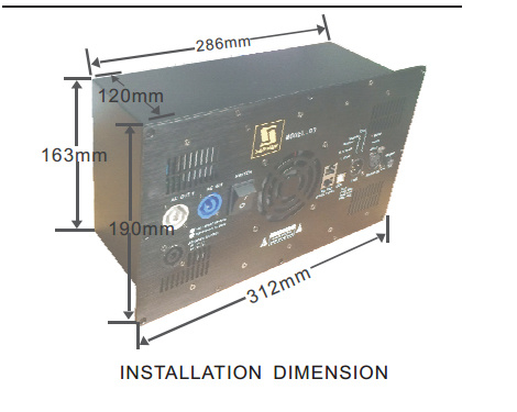 D3-2.1 1800W+900W+900W DSP Stereo Plate Amplifier pictures & photos