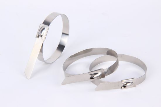 Free Sample Ex-Work Price Sell Good Quality Ball Self-Locking Stainless Steel Cable Tie